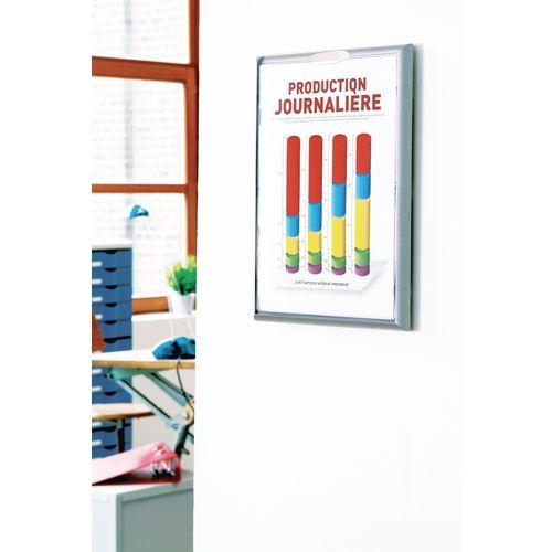 Aluminium Modular Poster Display Frames A4 Pack 4