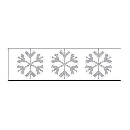 Sign Glass Highlighting 500x150 Vinyl Snowflake