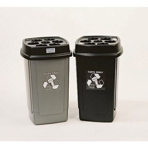 Disposable Cup Bin Charcoal