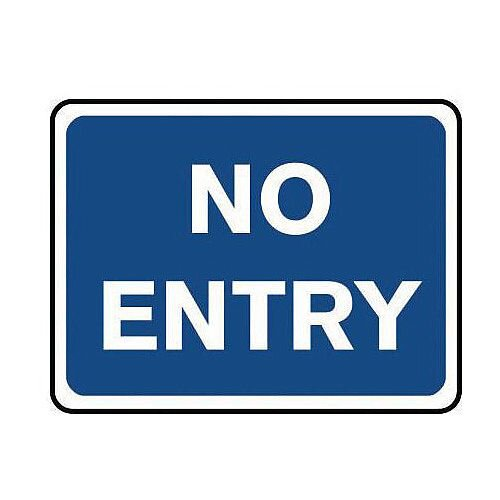 Information Traffic Sign No Entry Class 1