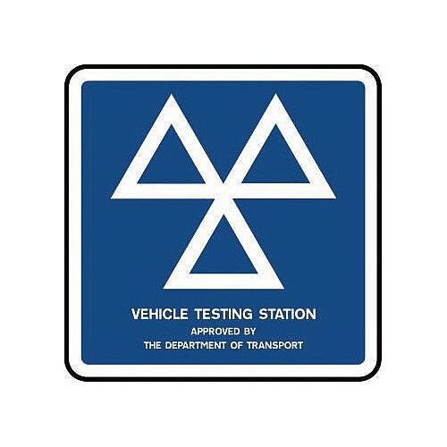 Information Traffic Sign Vehicle Testing Station Class 1