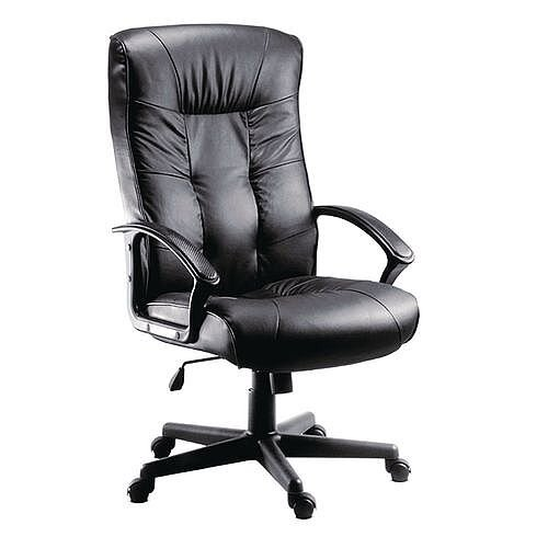 Executive High Back Leather Office Chair Gloucester