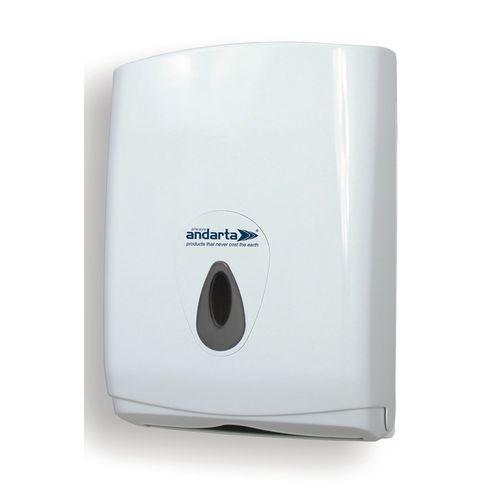 Andarta Folded Hand Towels Dispenser Takes Zig Zag Fold