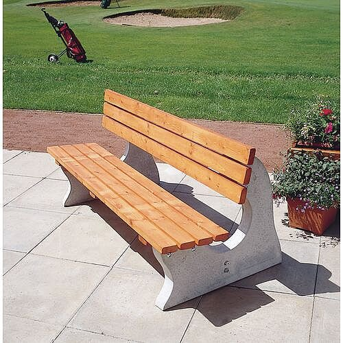 Terrific Concrete Bench Seat Download Free Architecture Designs Fluibritishbridgeorg