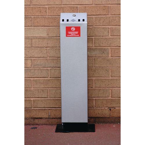 Floor Standing Ash Bin H x W x D 810 x 180 x 130mm