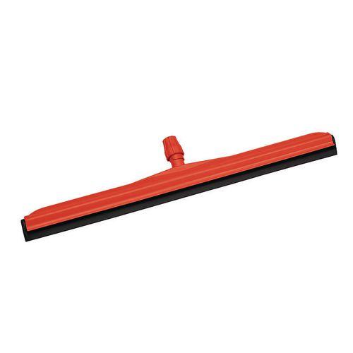 Plastic Floor Squeegee Red
