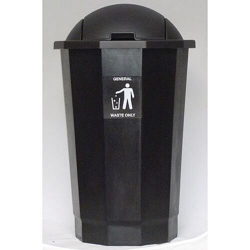 Recycling Bin Bank System For Toner Cartridges Black 75L