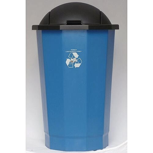 Recycling Bin Bank System For Toner Cartridges Blue 75L