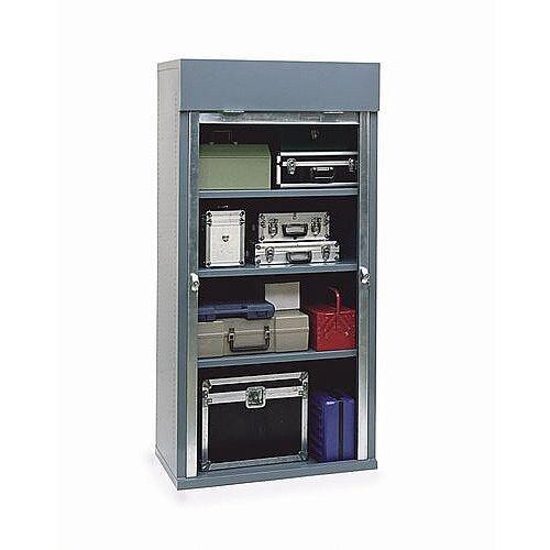 Extra Shelf For Heavy Duty Roller Shutter Security Cabinet 1000mm Wide Blue