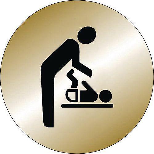 Prestige Range Sign Baby Changing Pictorial