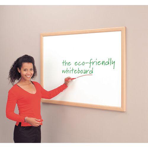Eco-Friendly Whiteboard Light Oak 1200X1800mm