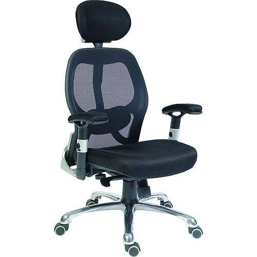 Cobham Contemporary Mesh Back Executive Office Chair Black