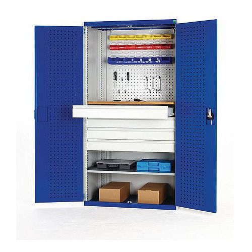Mini Workshop With 1 Shelf W1050 xD650xH2000mm