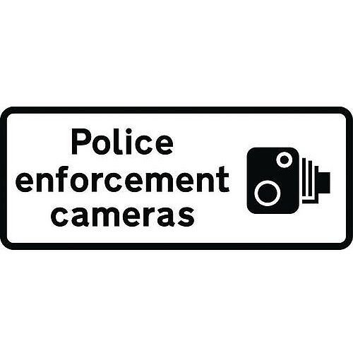 Speed Camera Sign Police Enforcement Class 2