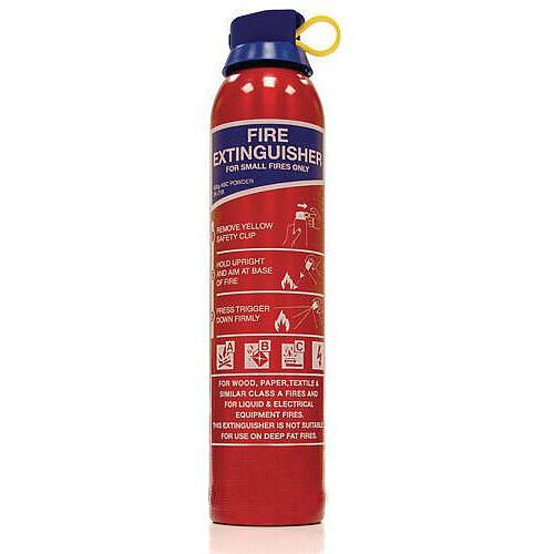 Abc Powder Fire Extinguisher Silver Capacity 600kg Pack of 5
