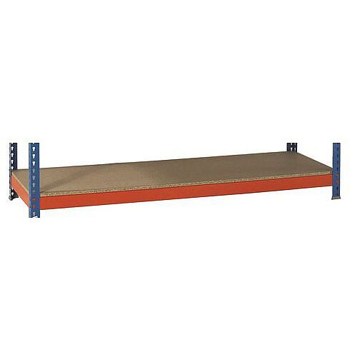 Extra Shelf For 2400mm Wide 450mm Deep Heavy Duty Boltless Chipboard Shelving 500Kg Capacity For SY379227 &SY379235