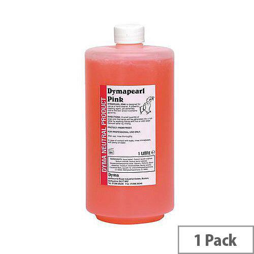 Pink Hand Soap 1L Bottel