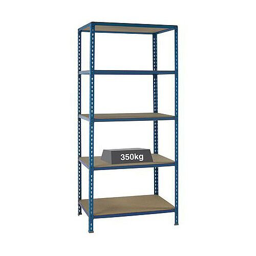 Medium Duty Boltless Shelving 350Kg Capacity Hxwxd M 2x900x400
