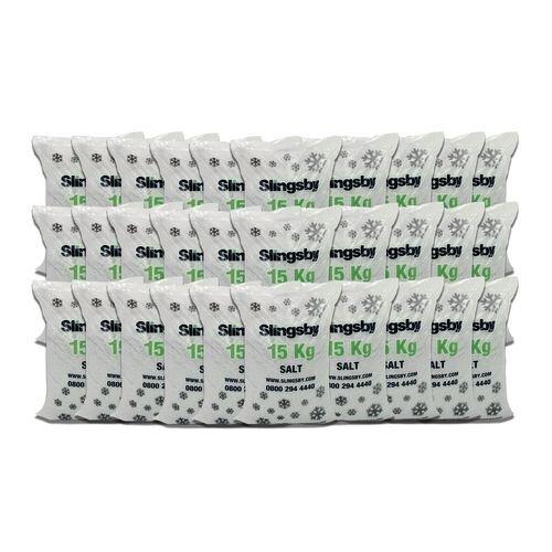 White De-Icing Salt 30x15Kg Bags