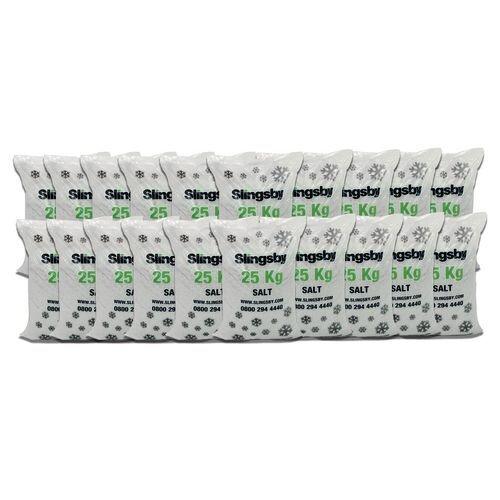 White De-Icing Salt 20x25Kg Bags