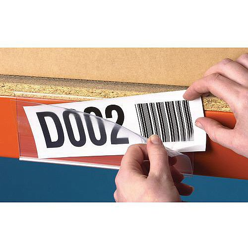 Self Adhesive Ticket Holder HxWmm 38x200 Pack of 50