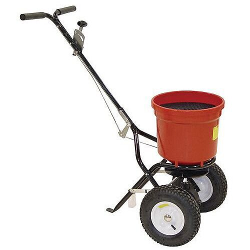 Contract De-icing Salt Spreader Capacity 22kg with Pneumatic Tyres 380944