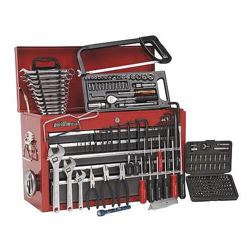 9 Drawer Topchest 196 Piece Tool Kit