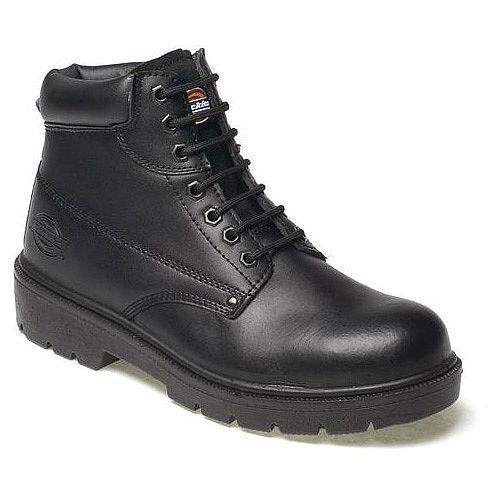 Dickies Black Super Safety Antrim Boots Size 8