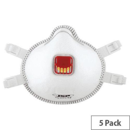 JPS P3 Moulded Disposable Mask Pack of 5