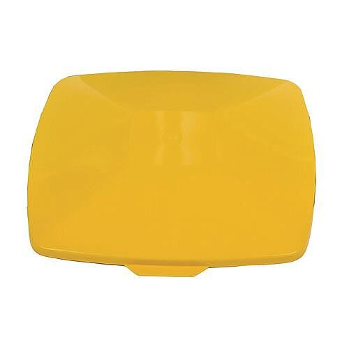 Lid For Square 40 Litre Bin Yellow