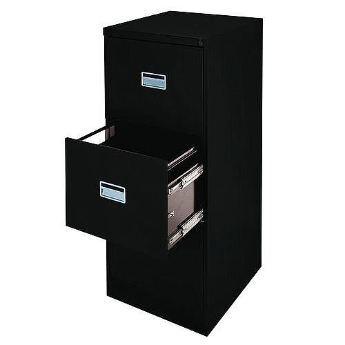 A3 Jumbo Filing Cabinet Black