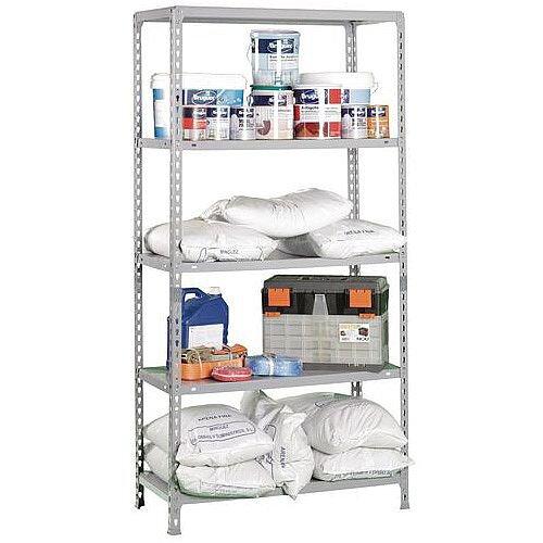 Kit Ecoclick Plus 400 Grey 1000M Wide Boltless Shelving Kit