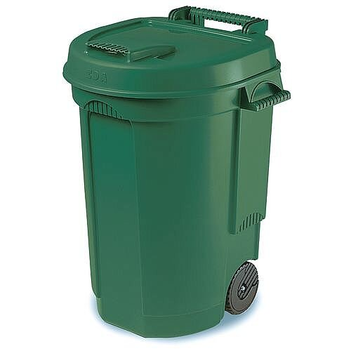 Mobile Wheelie Bin 110L 2-Wheels Green