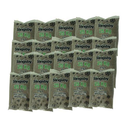 Brown Rock Salt 20x25Kg Bags