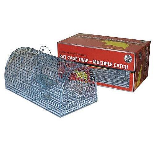 Humane Rat Capture Multicatch Cage