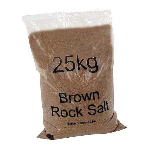 Brown Rock Salt 25Kg Bag
