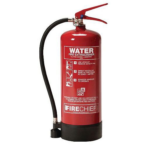 High Performance Water Fire Extinguisher 6L
