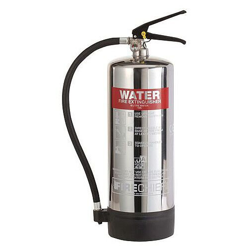 Stainless Steel Water Extinguisher 6L