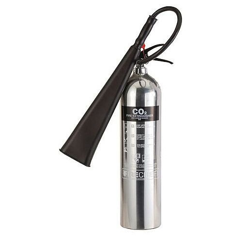 Polished CO2 Fire Extinguisher 5L