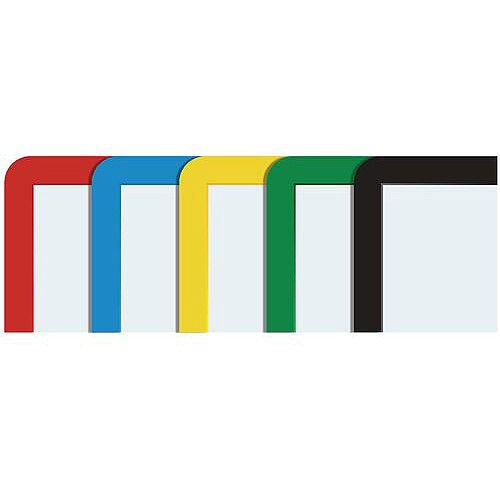 Document Frames A3 Magnetic Mixed Colours Pack of 10