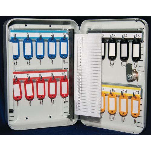 Key Cabinet With Key Lock 20 Key Capacity