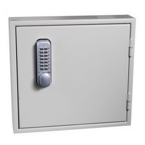 Key Cabinet - Slam Shut Locking 24 Key Capacity