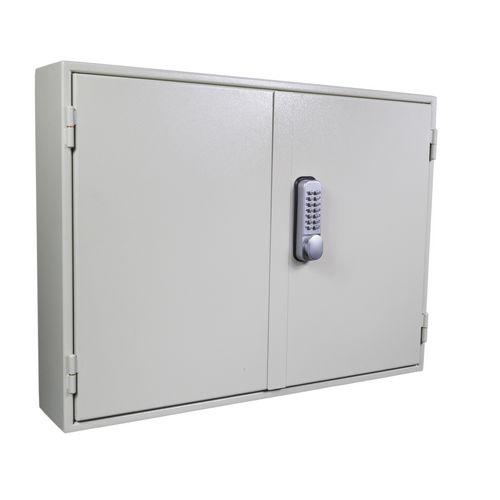 Key Cabinet - Slam Shut Locking 100 Key Capacity