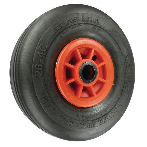 Puncture Proof Wheels Load Capacity 200kg Bore 25mm Wheel Diameter 260mm