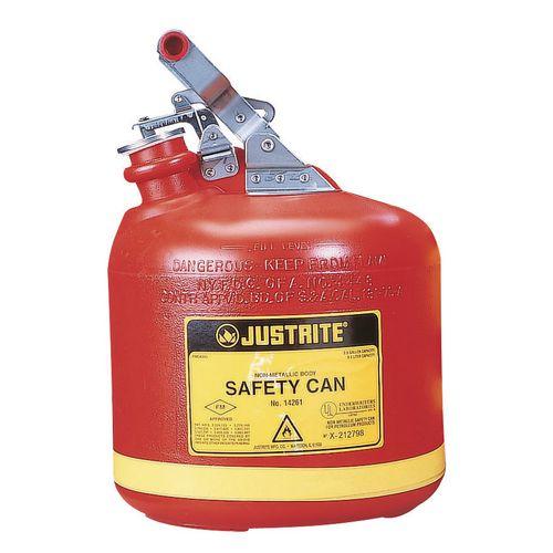 Polyethylene Safety Can 1.89L Capacity