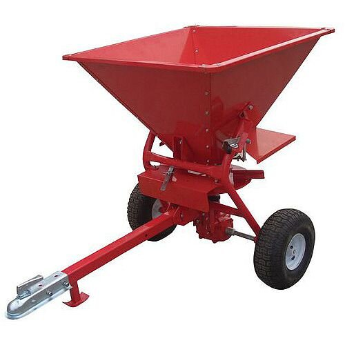 Towable Vehicle Salt Spreader 160L Capacity