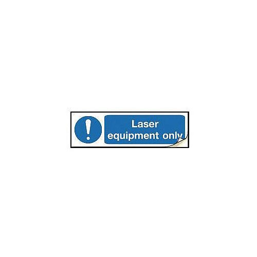 Plug Socket Prohibition &Warning Sign Laser Equipment