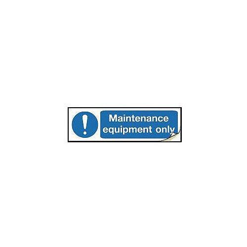 Plug Socket Prohibition &Warning Sign Maintenance Equipment