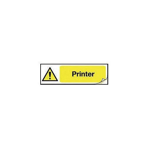 Plug Socket Prohibition &Warning Sign Printer