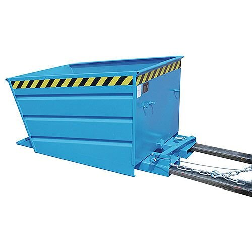 Automatic Tipping Skip/Container Blue Capacity 1000kg SY386329